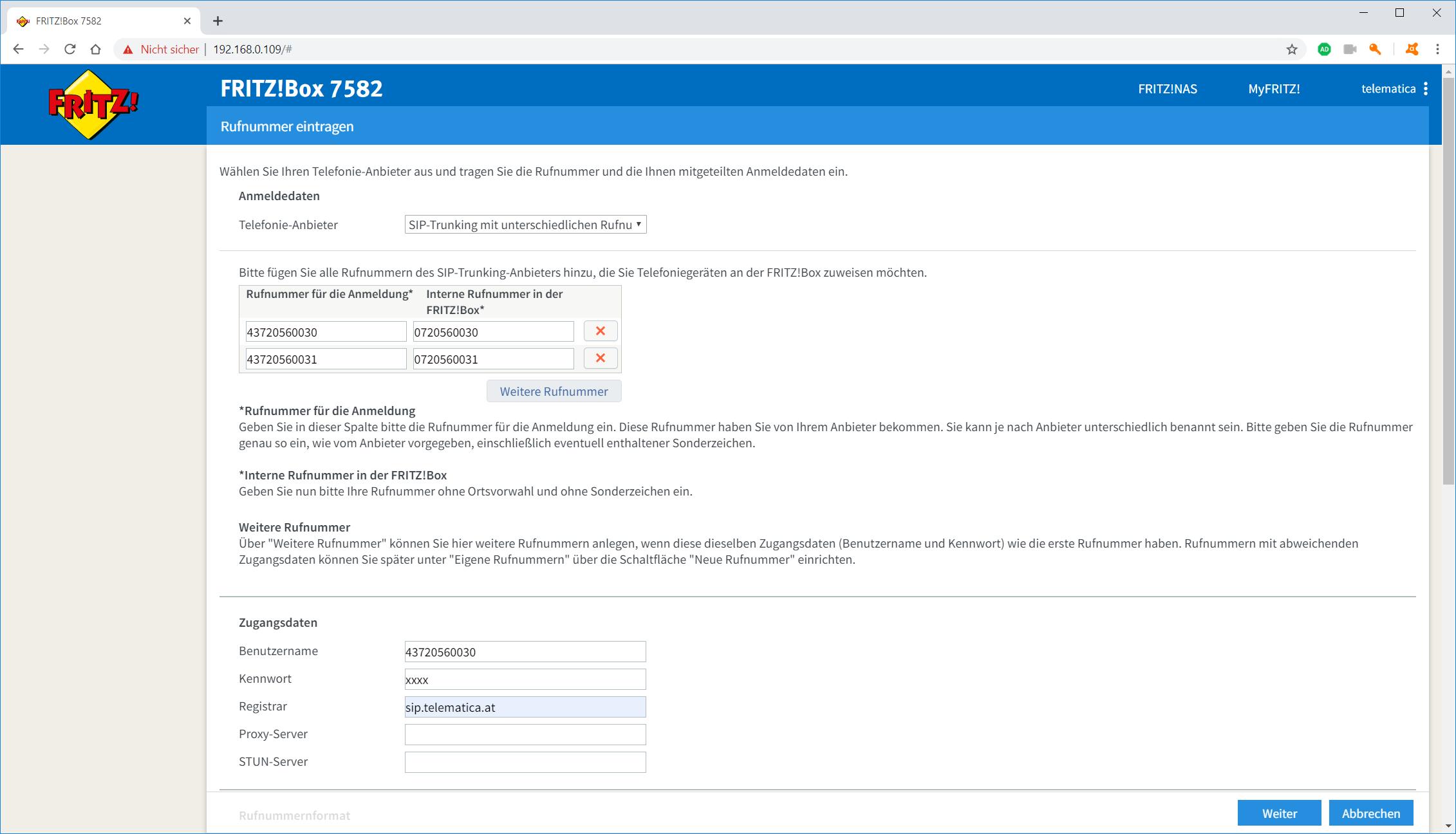 AVM FRITZBox SIP einrichten   Helpdesk